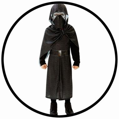 Kylo Ren Kinder Kostüm Deluxe - Star Wars - Klicken für grössere Ansicht