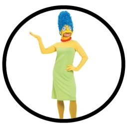 shopping kost me marge simpson kost m erwachsene the simpsons comic. Black Bedroom Furniture Sets. Home Design Ideas