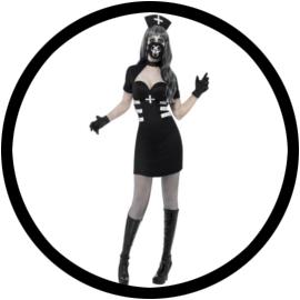 Nurse Delirium Kostüm - Krankenschwester Kostüm  - Klicken für grössere Ansicht