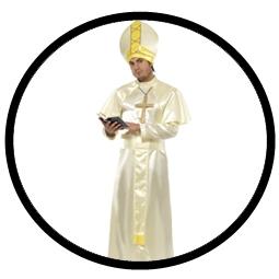 Papst Kostüm - weiss - Klicken für grössere Ansicht