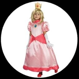 kost me von k 39 n 39 k prinzessin peach kinder kost m super mario world costumes verkleiden. Black Bedroom Furniture Sets. Home Design Ideas