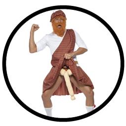 Schottenkostüm - Well Hung Highlander Kostüm - Klicken für grössere Ansicht
