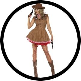 Sexy Wild West Kostüm - Klicken für grössere Ansicht