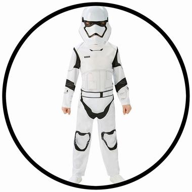 Stormtrooper Kinder Kostüm Classic EP7 - Star Wars - Klicken für grössere Ansicht