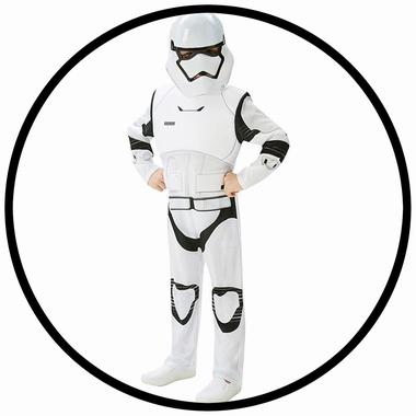 Stormtrooper Kinder Kostüm Deluxe EP7 - Star Wars - Klicken für grössere Ansicht