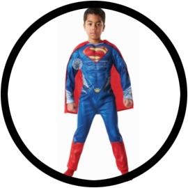 Superman Kinder Deluxe Kostüm - Man of Steel - Klicken für grössere Ansicht