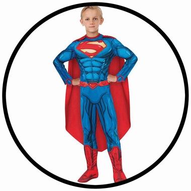 Superman Kinder Kostüm Deluxe - DC Comics  - Klicken für grössere Ansicht