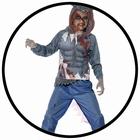 Wolfs Krieger Kost�m - Deluxe Wolf Warrior - Kinder