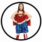 WONDER WOMAN KOST�M XL - PLUS SIZE