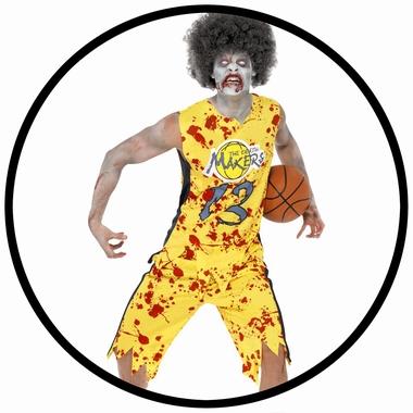 Zombie Basketball Spieler Kostüm - Klicken für grössere Ansicht