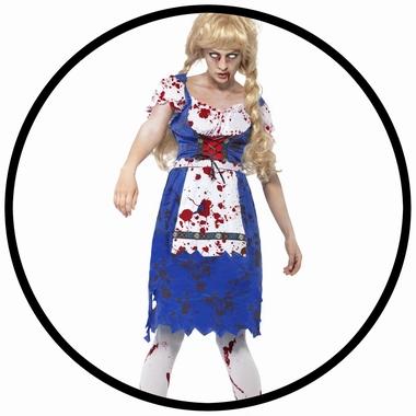 Zombie Bayerin Kostüm - Klicken für grössere Ansicht