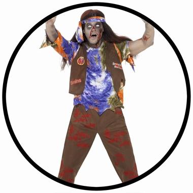 Zombie Hippie Kostüm - Klicken für grössere Ansicht