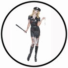 Zombie Polizistin Kostüm