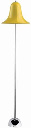 Verner Panton Stehlampe - Pantop - Gelb