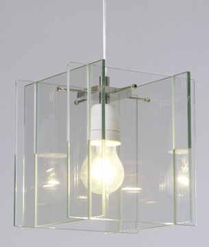 Hotel Royal Pendant Lampe  - Glas - transparent