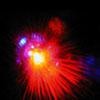 Laserpod Lichteffekt