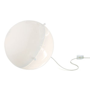 Bodenlampe Orion Weiss