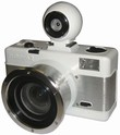 Lomography Fisheye 2 Kamera White