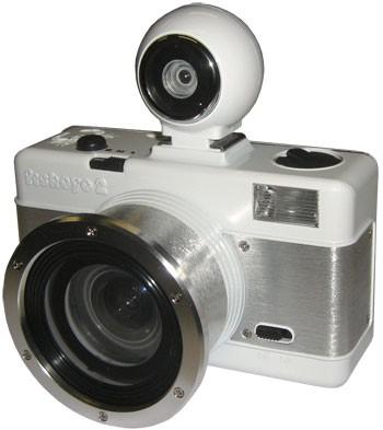 Lomography Fisheye 2 Kamera White