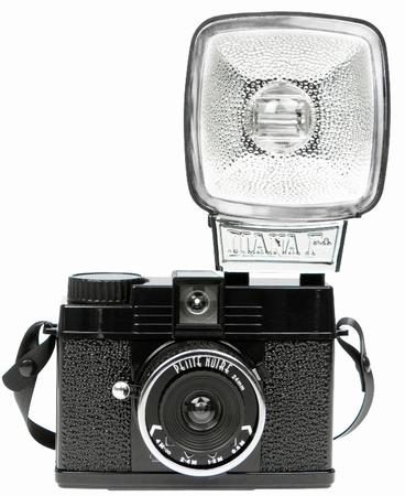 Lomography Diana Mini Flash Kamera - Schwarz - Petite Noire
