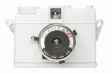 Lomography Diana Mini Kamera - Weiss