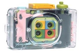 Lomography Action Sampler Kit Kamera