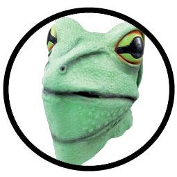 Froschmaske grün - Klicken für grössere Ansicht