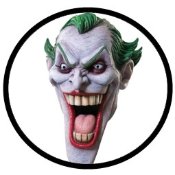 Joker Maske Deluxe Comic Style  - Klicken für grössere Ansicht