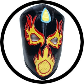 Lucha Libre Maske - Fireball - Klicken f�r gr�ssere Ansicht