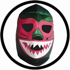 Lucha Libre Maske - Green Monster