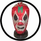 Lucha Libre Maske - Mil Mascaras Rot