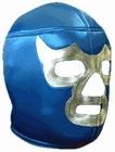 Lucha Libre Maske - Silver Blue Demon