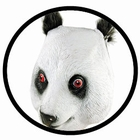 5 x PANDA MASKE ERWACHSENE