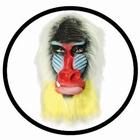 Pavian Maske Mandrill Bunt
