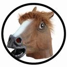 Pferd Maske Braun