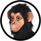 Schimpansen Maske - Affenmaske