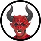 Teufel Maske mit Hörnern