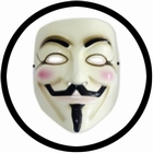 1 x V WIE VENDETTA MASKE - ANONYMOUS - GUY FAWKES