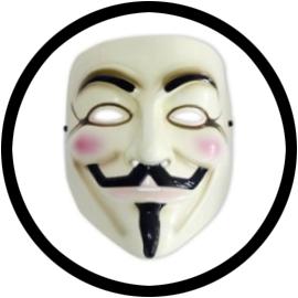 V wie Vendetta Maske - Anonymous - Guy Fawkes - Klicken für grössere Ansicht