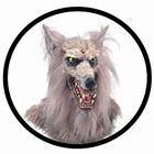 Wolfmaske Deluxe Erwachsene