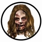 Zombie Maske - The Walking Dead - Kleines Mädchen