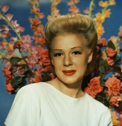 Betty Hutton - Blumen
