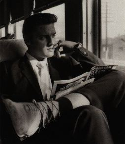 Elvis Presley - on Train