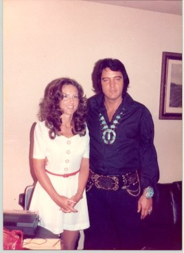 Elvis Presley - with Lady