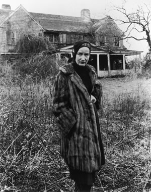 Grey Gardens - Little Edie im Pelzmantel