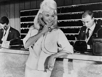 Jayne Mansfield - on the Phone