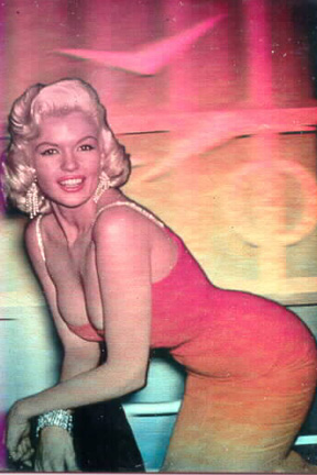 Jayne Mansfield - red Dress