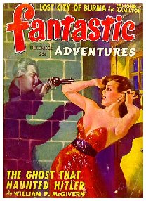Pulp Fiction Covers - Fantastic Adventures