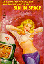 Pulp Fiction Covers - Sin in Space