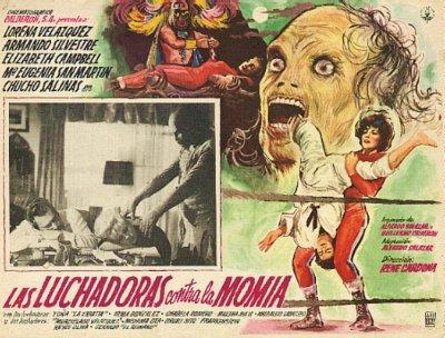 Santo - Las Luchadoras contra la Momia